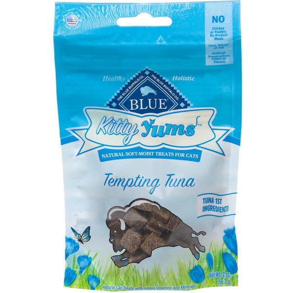 Blue Buffalo Kitty Yums Tempting Tuna Recipe Soft-Moist Cat Treats