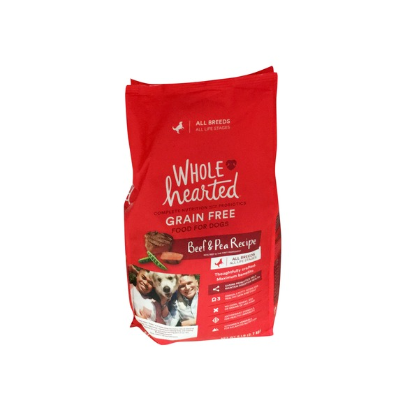 Whd Grain Free Beef & Pea Dog Food