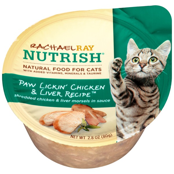 Nutrish Paw Lickin' Chicken & Liver Recipe Cat Food