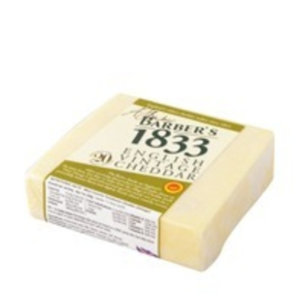 Barbers Cheddar Barbers 1833 English