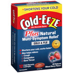 Cold-EEZE Plus Natural Multi-Symptom Relief Cold & Flu Lozenges