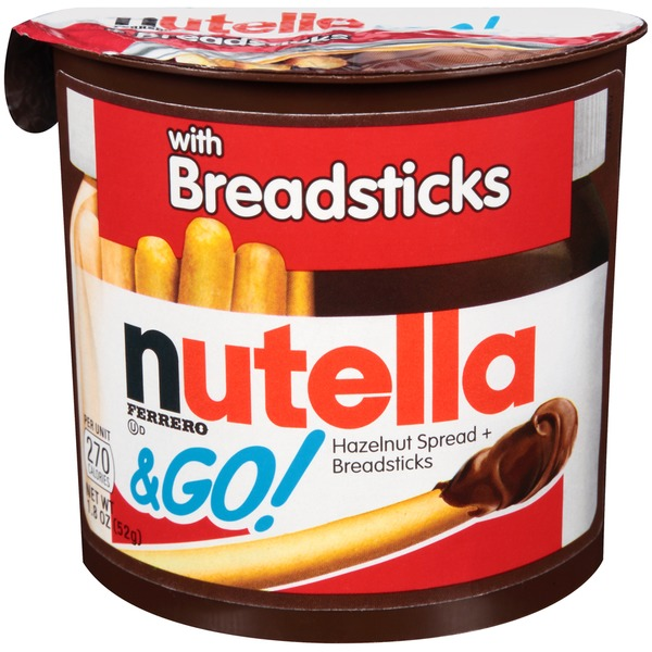 Nutella & Go Hazelnut Spread + Breadsticks