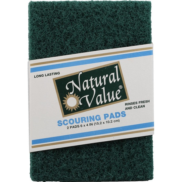 Natural Value Scouring Pads