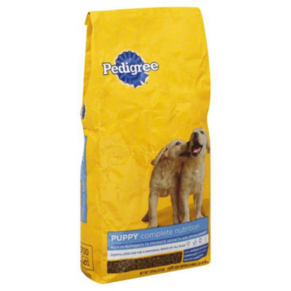 Pedigree Puppy Growth & Protection Chicken & Vegetable Flavor Dog Food