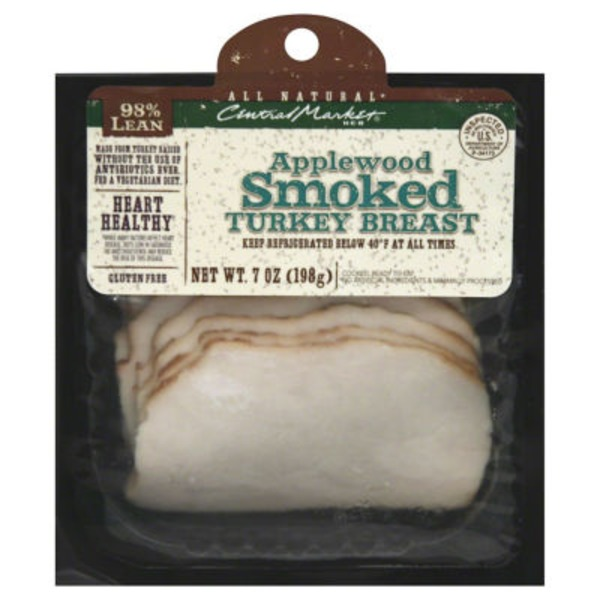 Central Market Applewood Smoked Turkey Breast