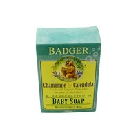 Badger Handcrafted Chamomile & Calendula Baby Soap
