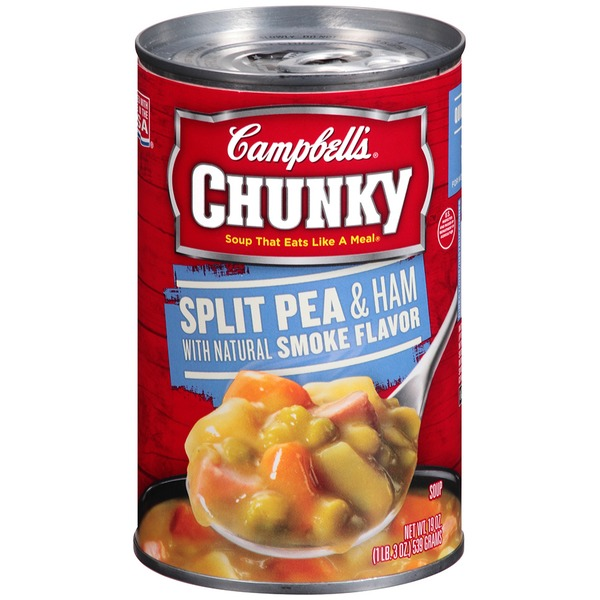 Campbell's Split Pea & Ham with Natural Smoke Flavor Soup