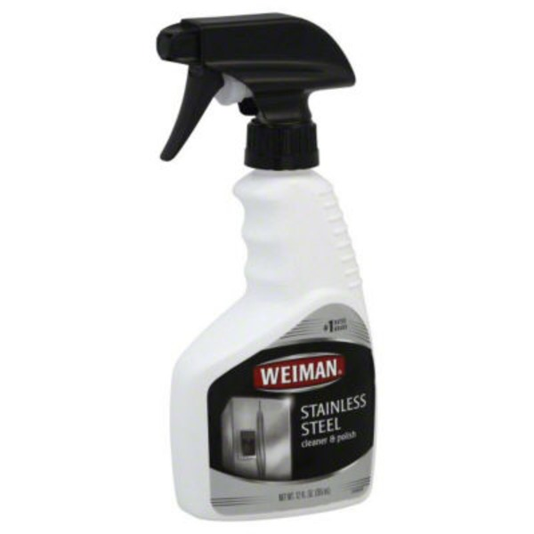 Weiman Stainless Steel Cleaner & Polish Streak Free