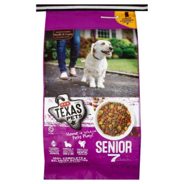 H-E-B Texas Pets, Senior 7 Formula Dry Dog Food