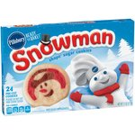 Pillsbury Ready to Bake! Snowman Shape Sugar Cookies