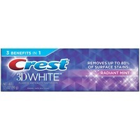 Crest 3D White Fluoride Anticavity Radiant Mint Toothpaste