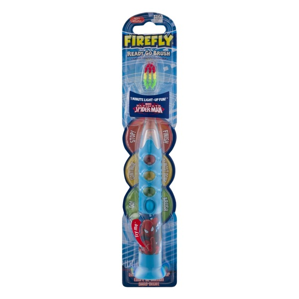 Firefly Ready Go Brush Marvel Ultimate Spider-Man Soft