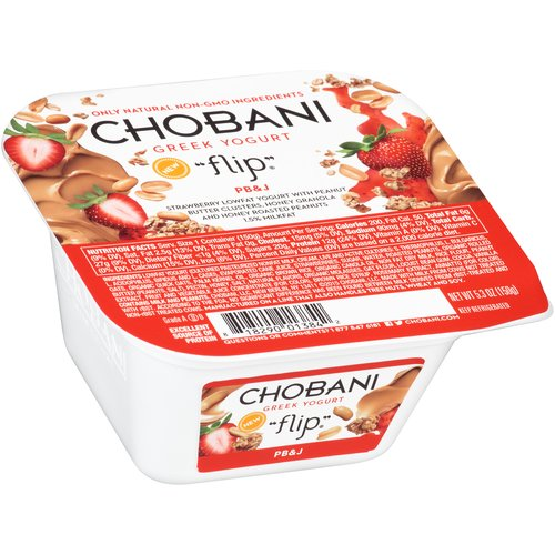 Chobani Flip PB&J Low-Fat Greek Yogurt