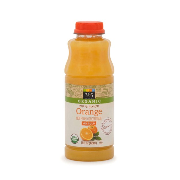 365 Organic Orange Juice No Pulp