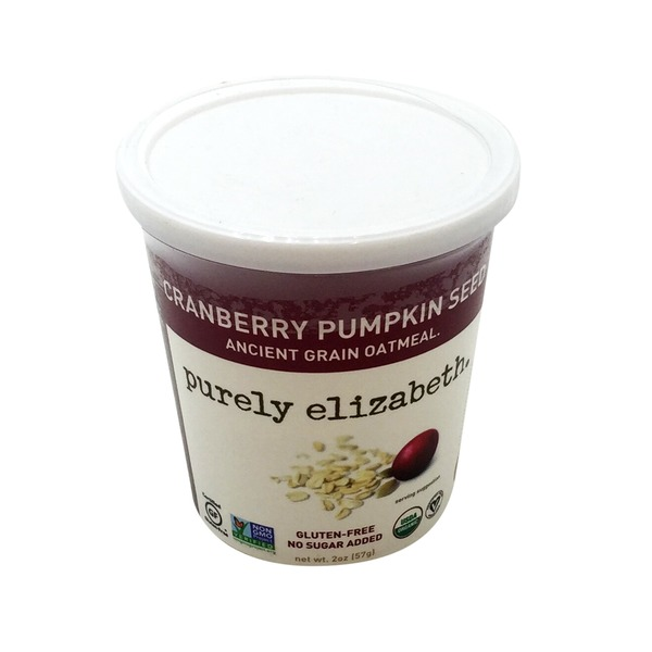 Purely Elizabeth Oatmeal Cup Cranberry Pumpkin Seed