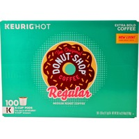 The Original Donut Shop Regular Medium Roast Extra Bold Coffee, K-Cup Pods