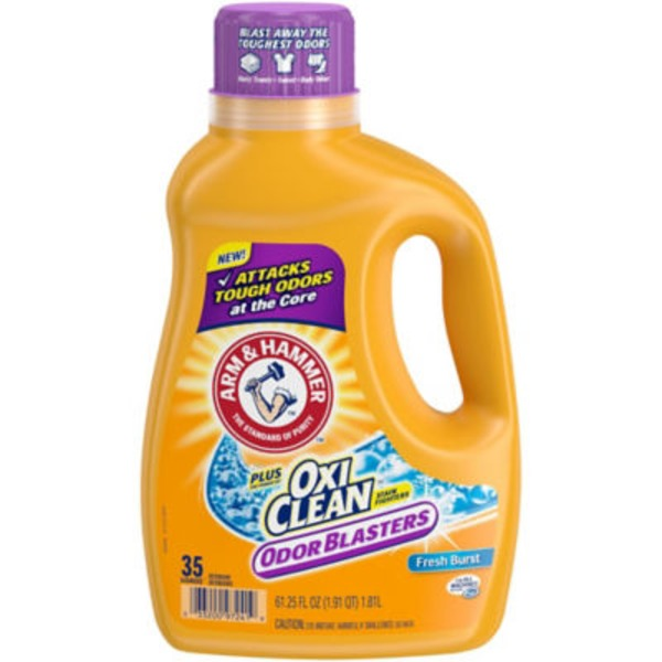 Arm & Hammer Plus OxiClean Stain Fighters Odor Blasters Fresh Burst Laundry Detergent