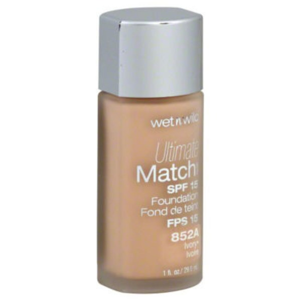 Wet n' Wild Ultimate Match Liquid Foundation - Ivory 852A