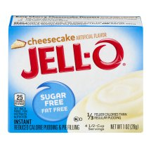 Jell-O Instant Pudding & Pie Filling Sugar Free & Fat Free Cheesecake, 1 Oz