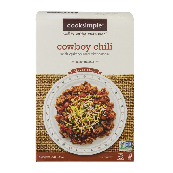 Cooksimple Cowboy Chili Mix With Quinoa And Cinnamon