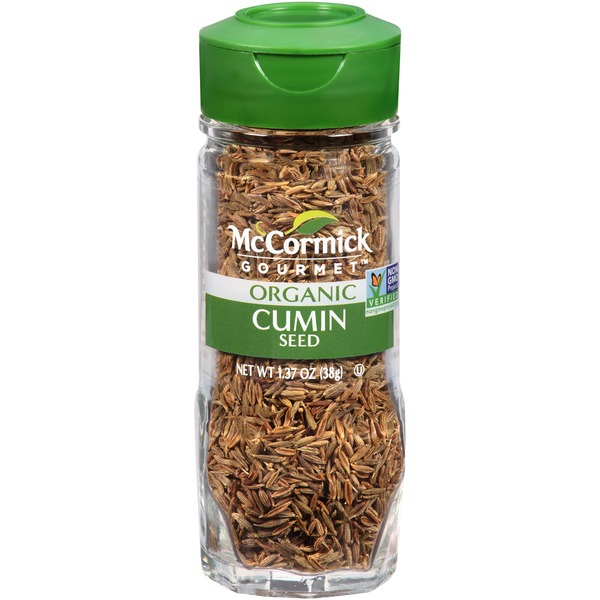 McCormick Gourmet Collection Organic Cumin Seed