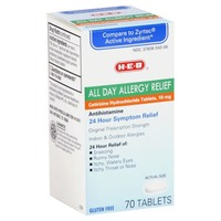 H-E-B All Day Allergy Relief Cetrizine 10 Mg Tablets