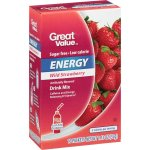 Great Value Energy Drink Mix, Wild Strawberry, Sugar-Free, 1.1 oz, 10 Count
