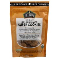 Go Raw Ginger Snap Sprouted Cookies