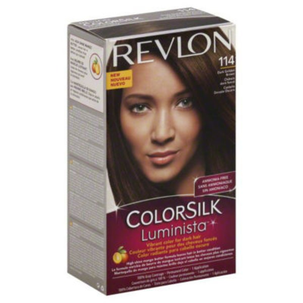 Colorsilk Luminista Dark Golden Brown Permanent Color