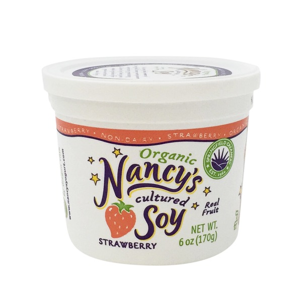 Nancy's Strawberry Cultured Soy