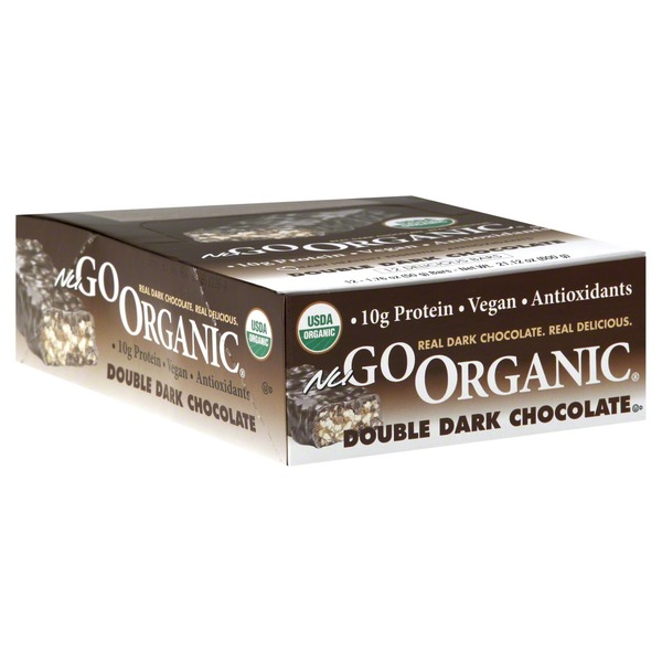 NuGo Nutrition Bars, Double Dark Chocolate