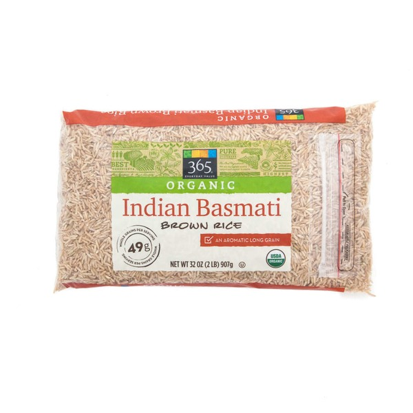 365 Organic Brown Indian Basmati Rice