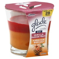 Glade 2in1 Vanilla Passion Fruit/Hawaiian Breeze Candle