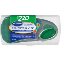 Dr. Scholl's Custom Fit Orthotic Shoe Inserts, CF220