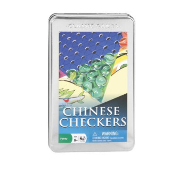 Cardinal Chinese Checkers In A Tin