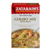 Zatarain's New Orleans Style Gumbo Mix with Rice, 7 oz