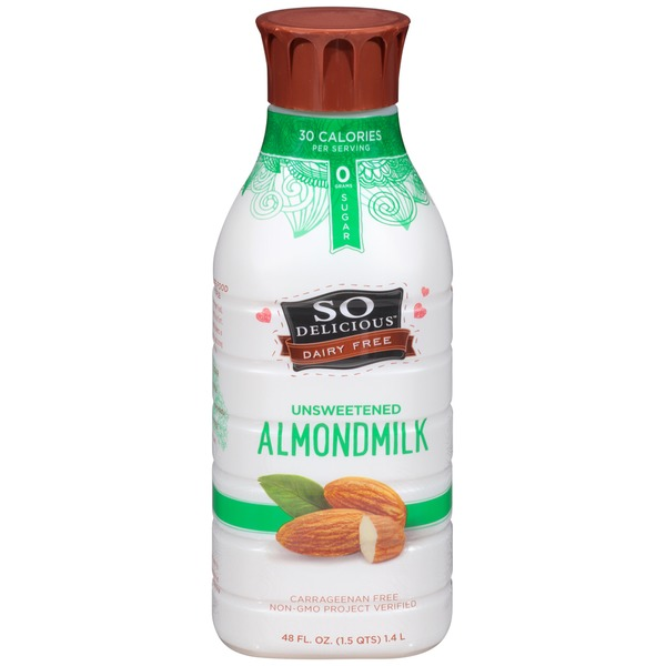 So Delicious Unsweetened Almond Milk