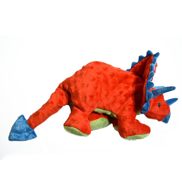 Go Dog Large Triceratops Dog Toy