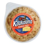 Kaukauna Pepper Jack Spreadable Cheese with Almonds, 10 oz