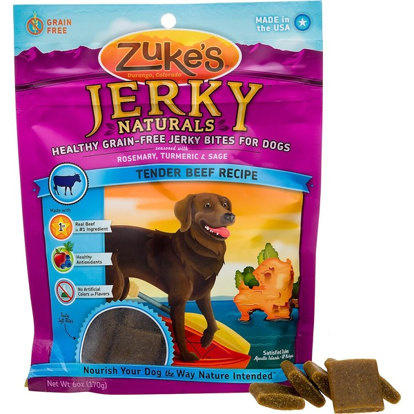 Zuke's Z Filets Treats Beef