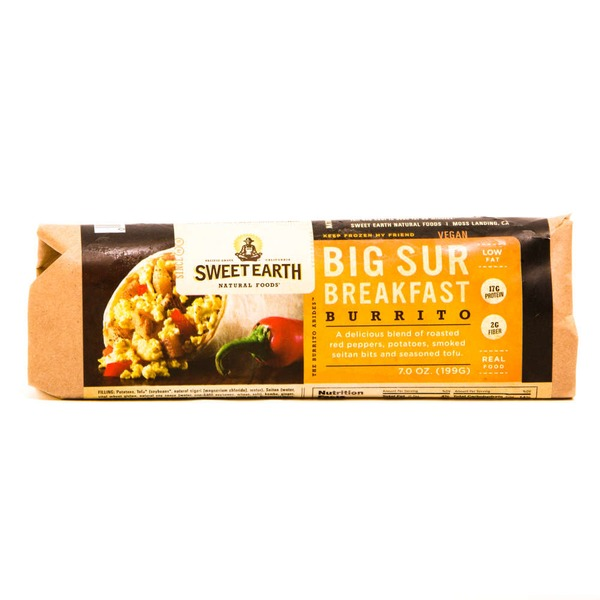 Sweet Earth Natural Foods Big Sur Breakfast Burrito