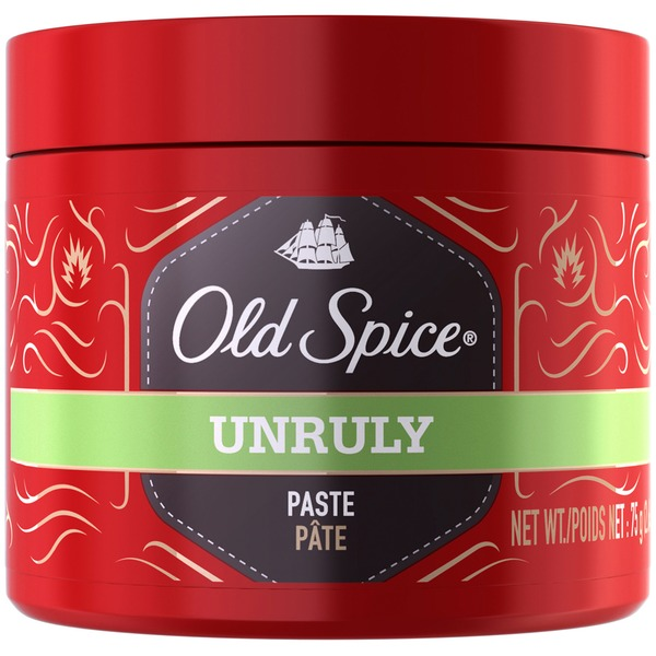 Old Spice Unruly Old Spice Unruly Texturizing Paste 2.64 Oz Male Hair Care