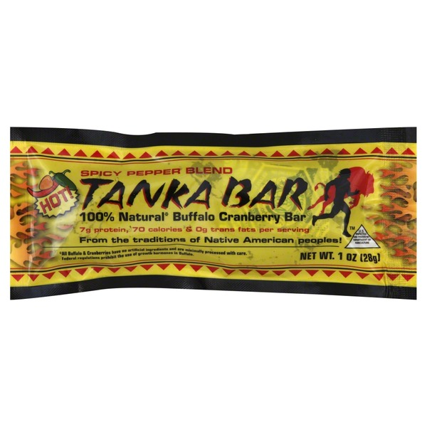 Tanka Buffalo Cranberry Bar Spicy Pepper Blend