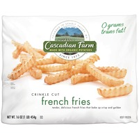 Cascadian Farm Crinkle Cut French Fries