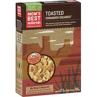 Mom's Best Cereals Toasted Cinnamon Squares Cereal