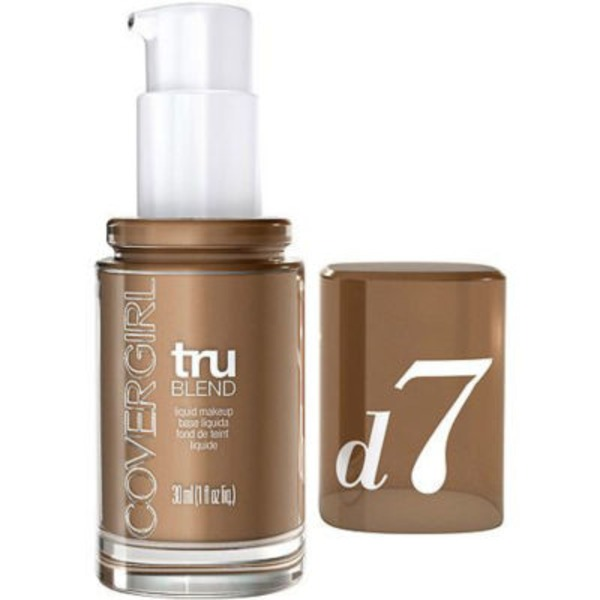 CoverGirl TruBlend COVERGIRL truBlend Liquid Foundation Makeup Soft Sable, 1 fl oz (30 ml) Female Cosmetics