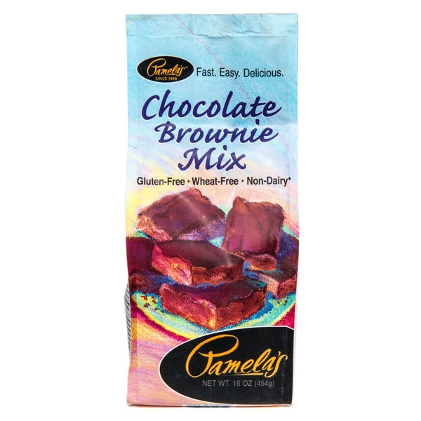 Pamela's Gluten-Free Non-Dairy Chocolate Brownie Mix