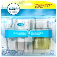Febreze Plug Febreze PLUG Air Freshener Starter Kit Linen & Sky (1 Count, 0.87 oz) Air Care