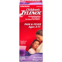 Children's Tylenol® Children's Ages 2–11 Grape Oral Suspension Pain Reliever/Fever Reducer