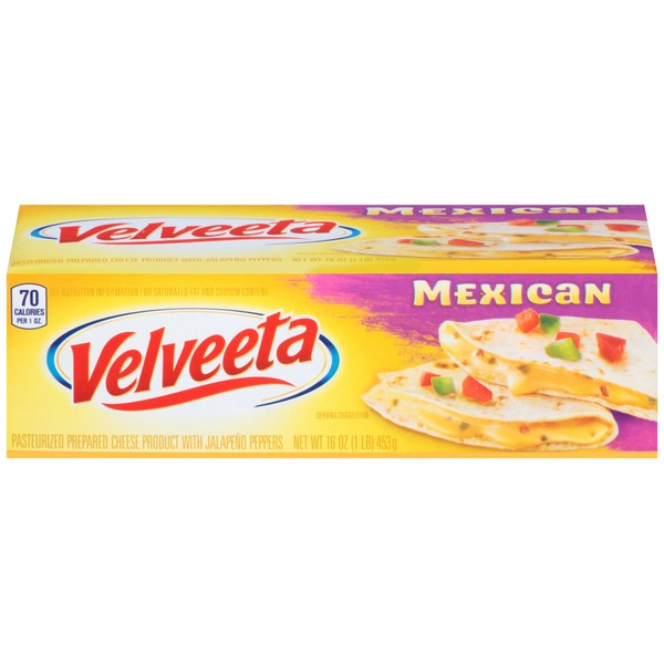 Kraft Velveeta Mexican Cheese